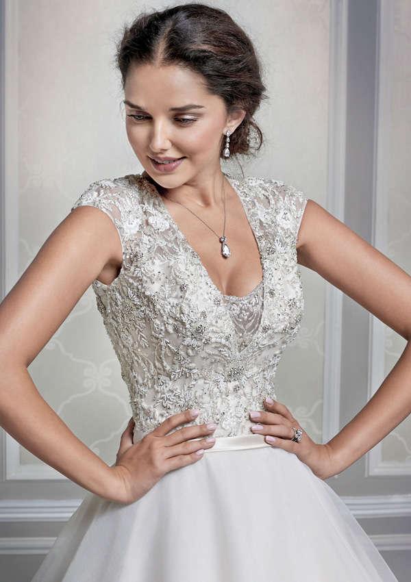 Восхитительное пышное свадебное платье Private Label 1601