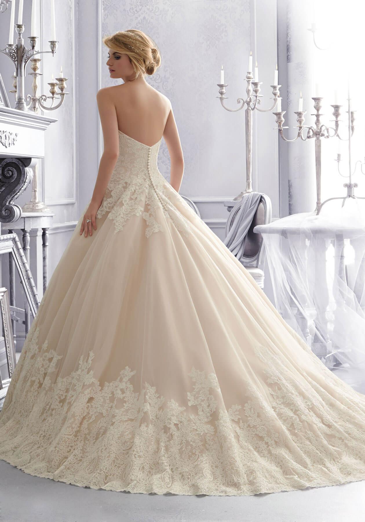 Свадебное платье Mori Lee 2674