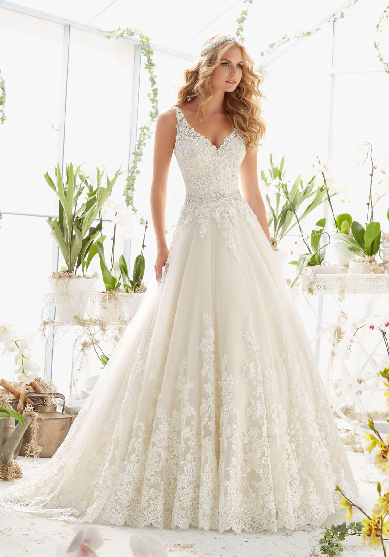 Cвадебное платье Mori Lee 2821