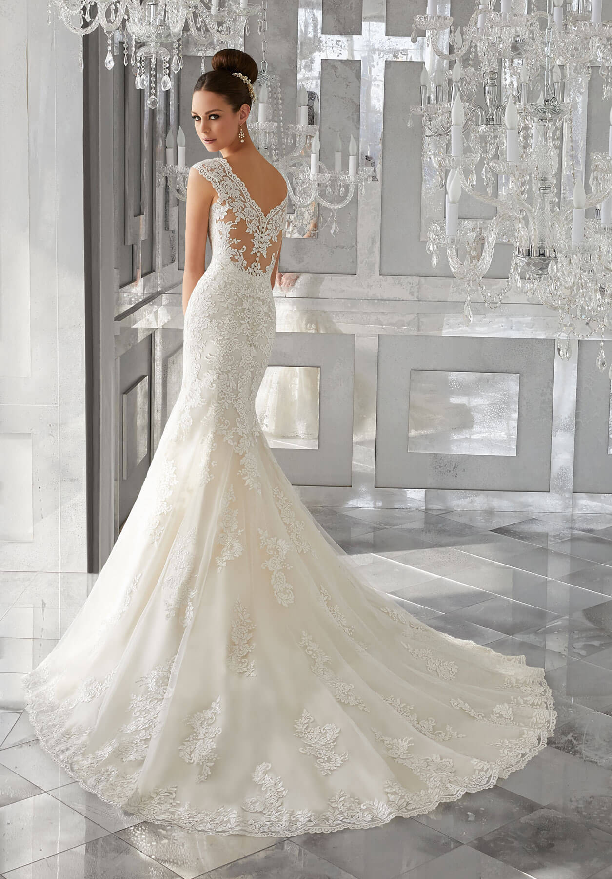 Cвадебное платье Mori Lee 5562