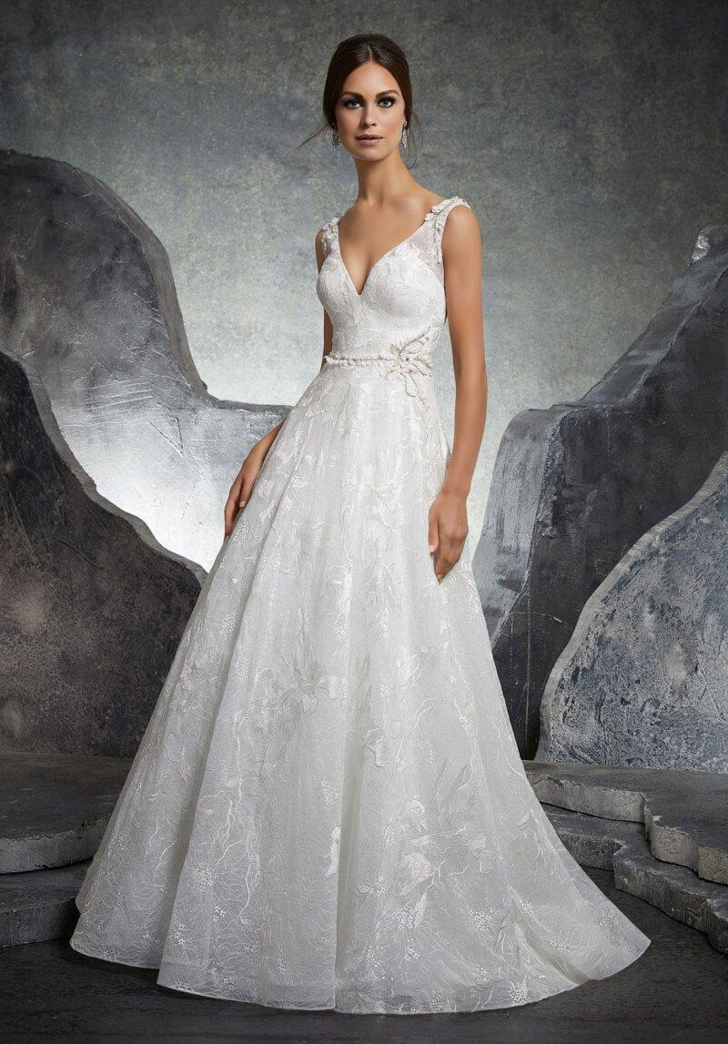 адебное платье Mori Lee 5614