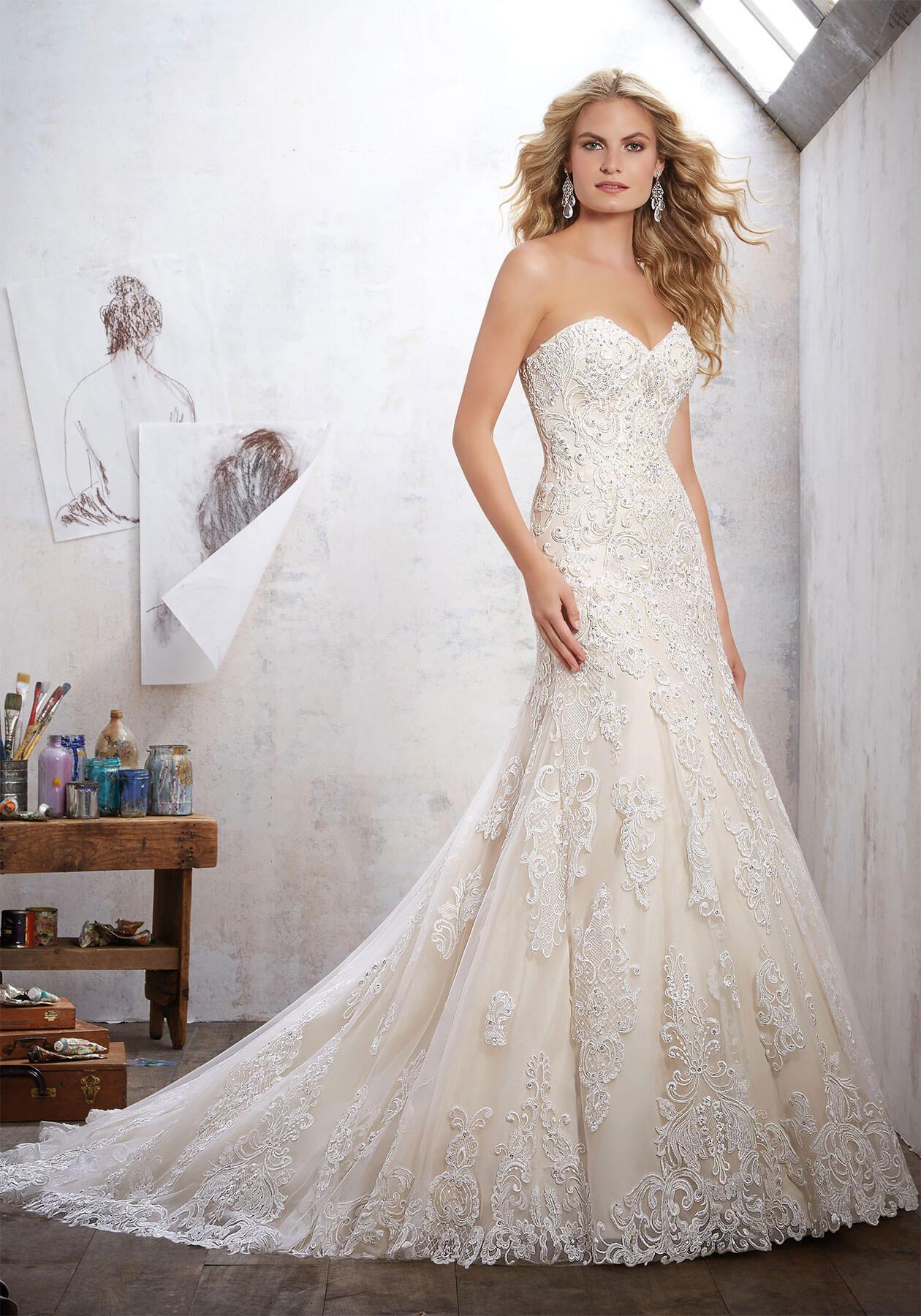 Свадебное платье Mori Lee 8102