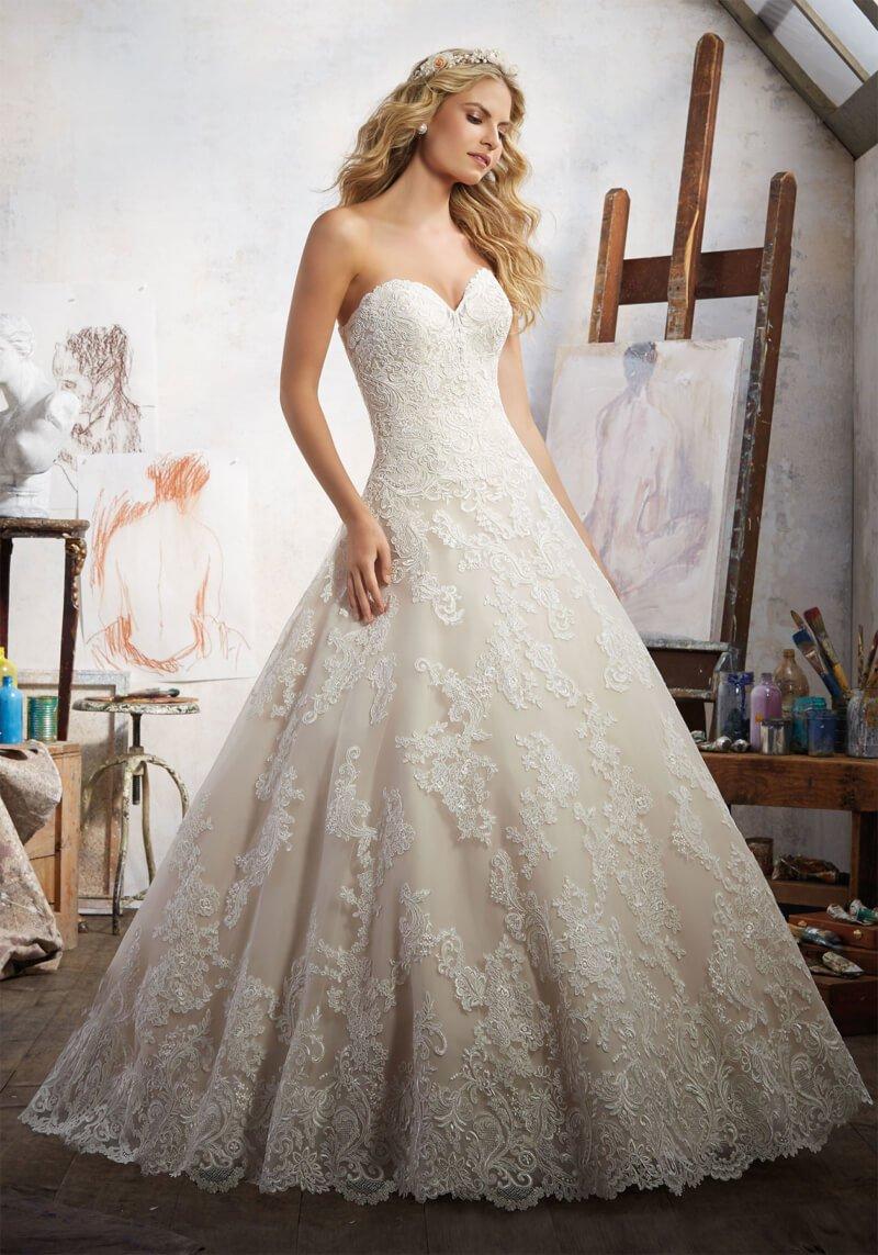 Свадебное платье Mori Lee 8108