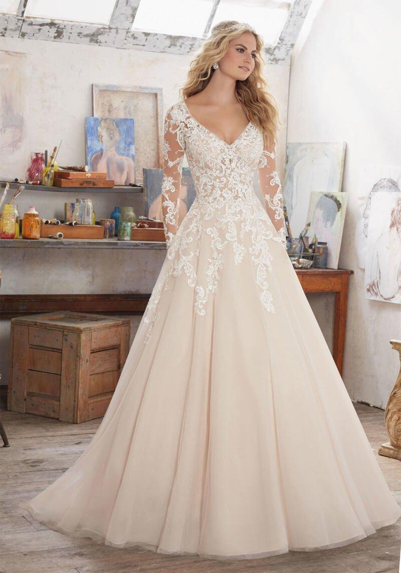 Свадебное платье Mori Lee 8110