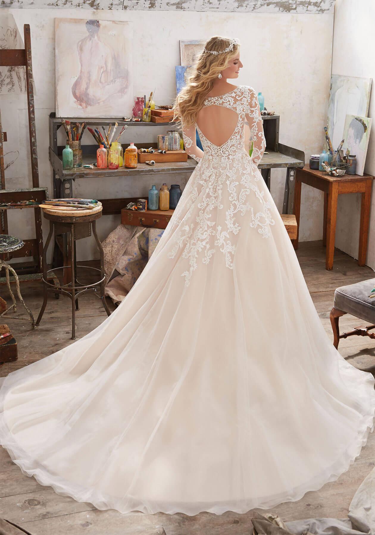Cвадебное платье Mori Lee 8110