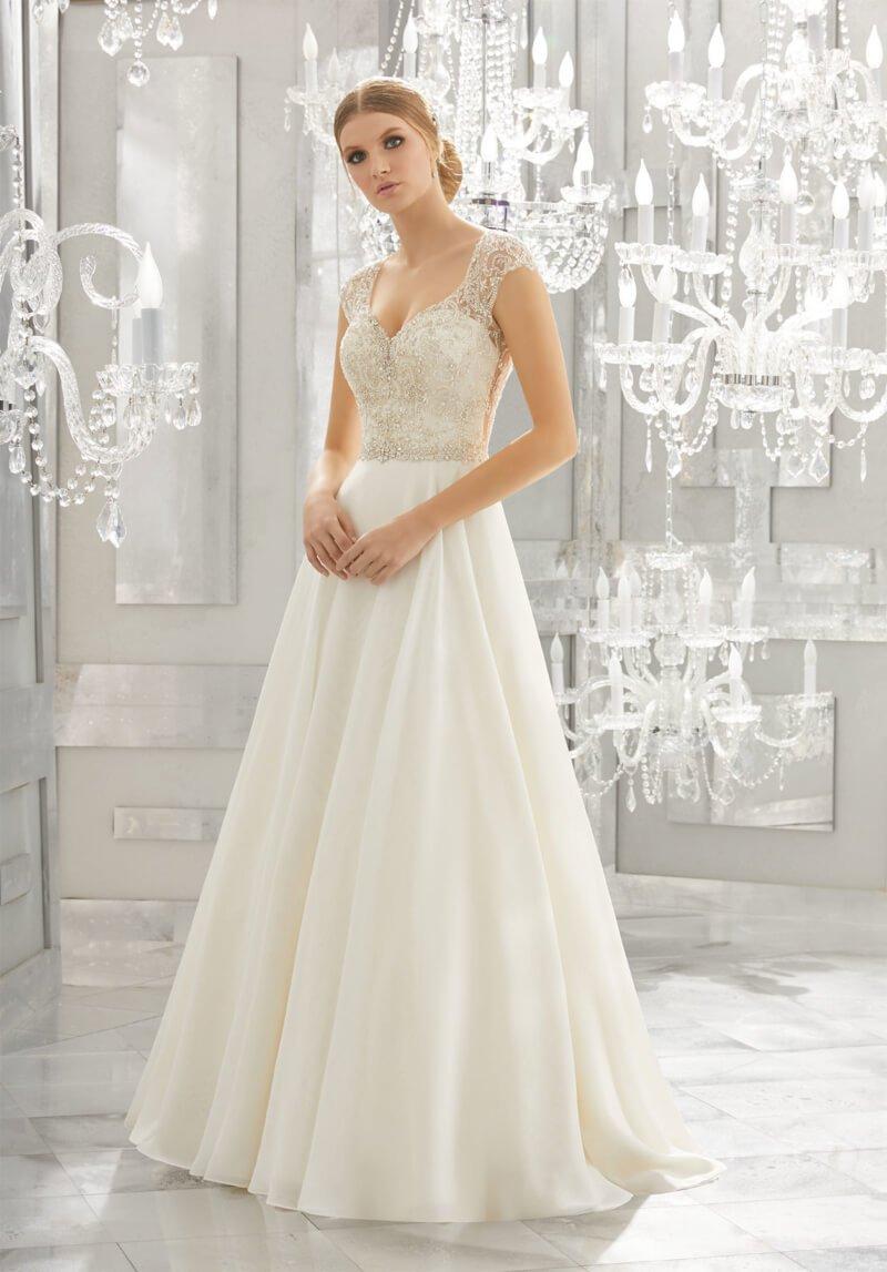 свадебное платье Mori Lee 8182