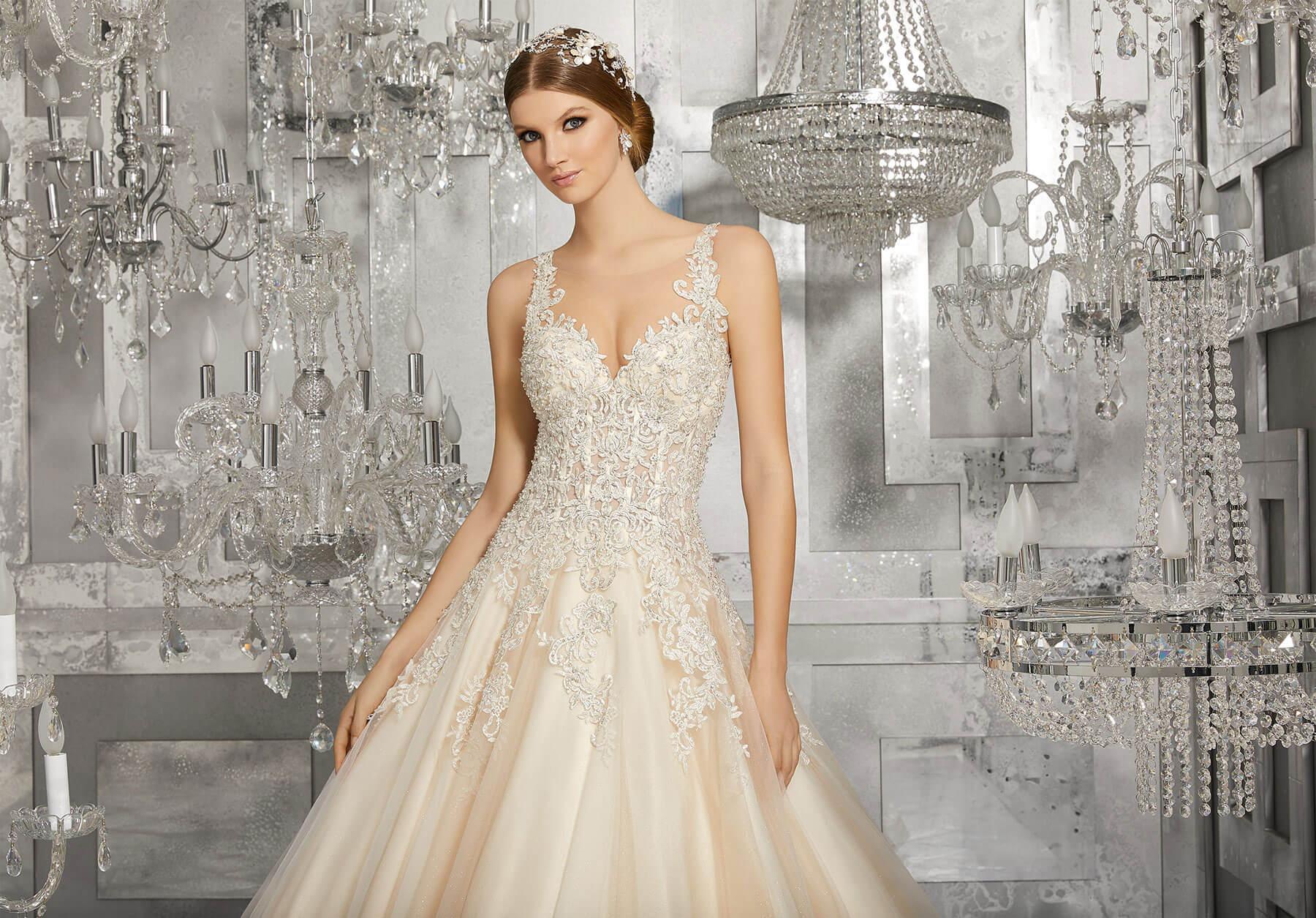Свадебное платье Mori Lee 8190