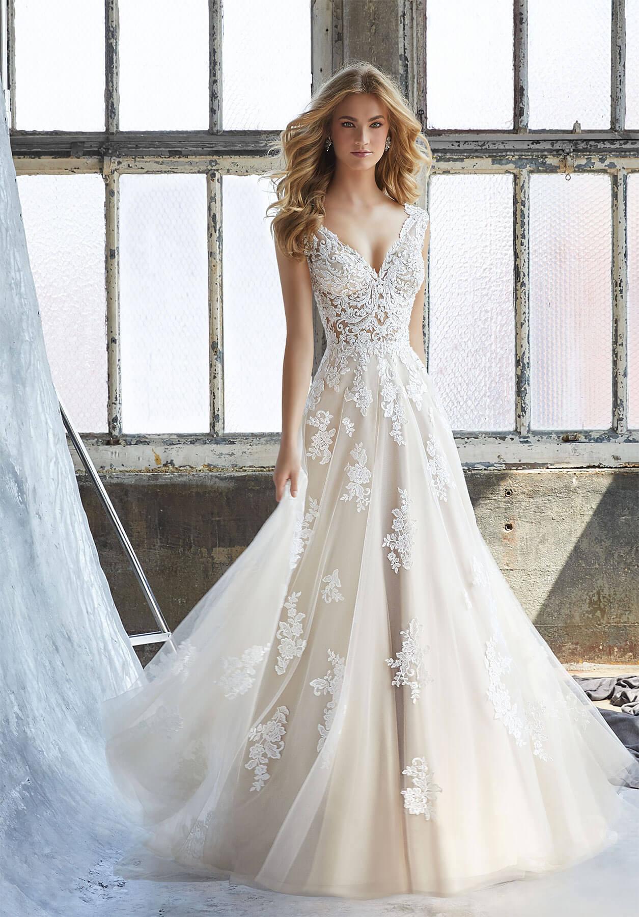 Свадебное платье Mori Lee 8206