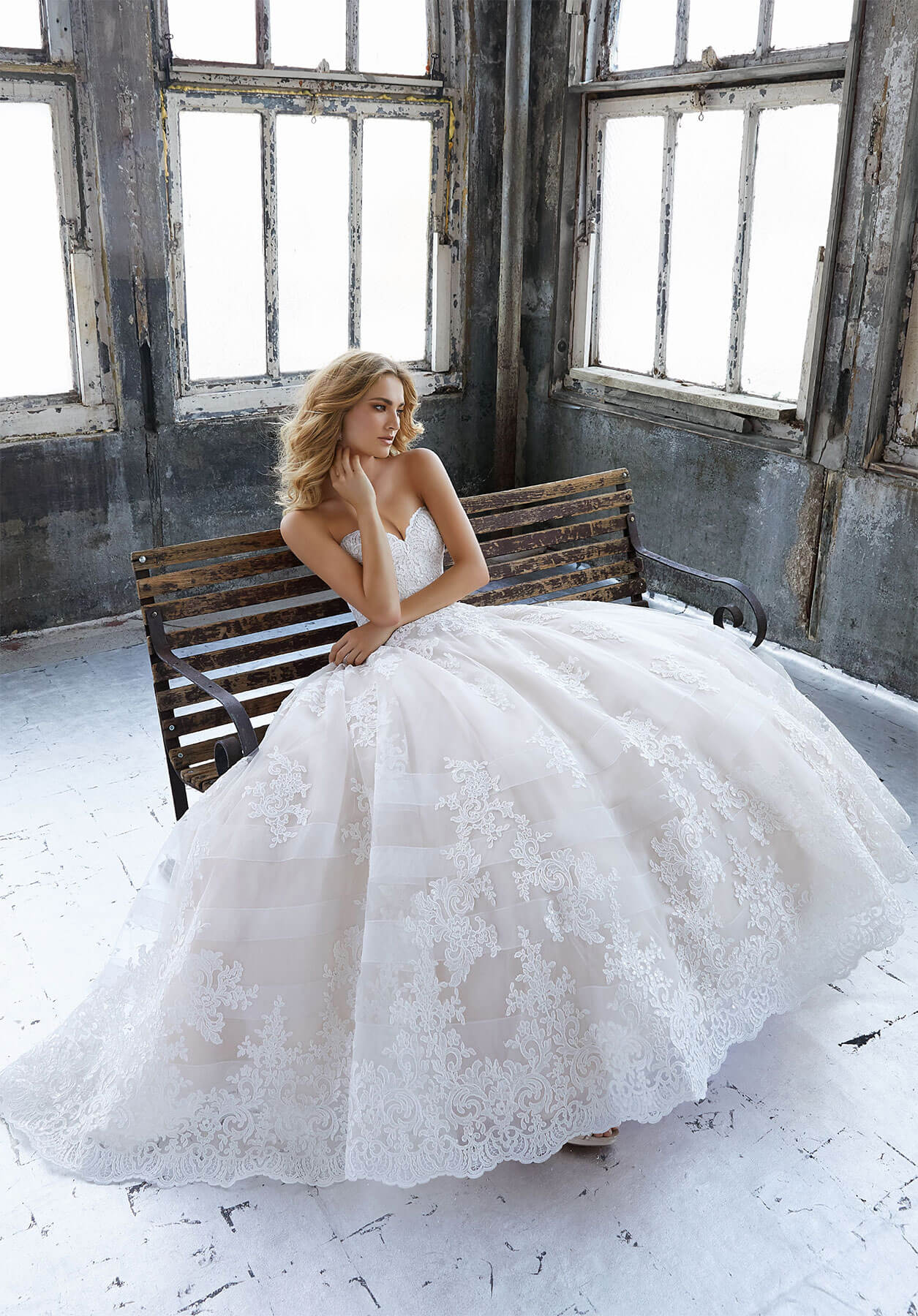 Свадебное платье Mori Lee 8211