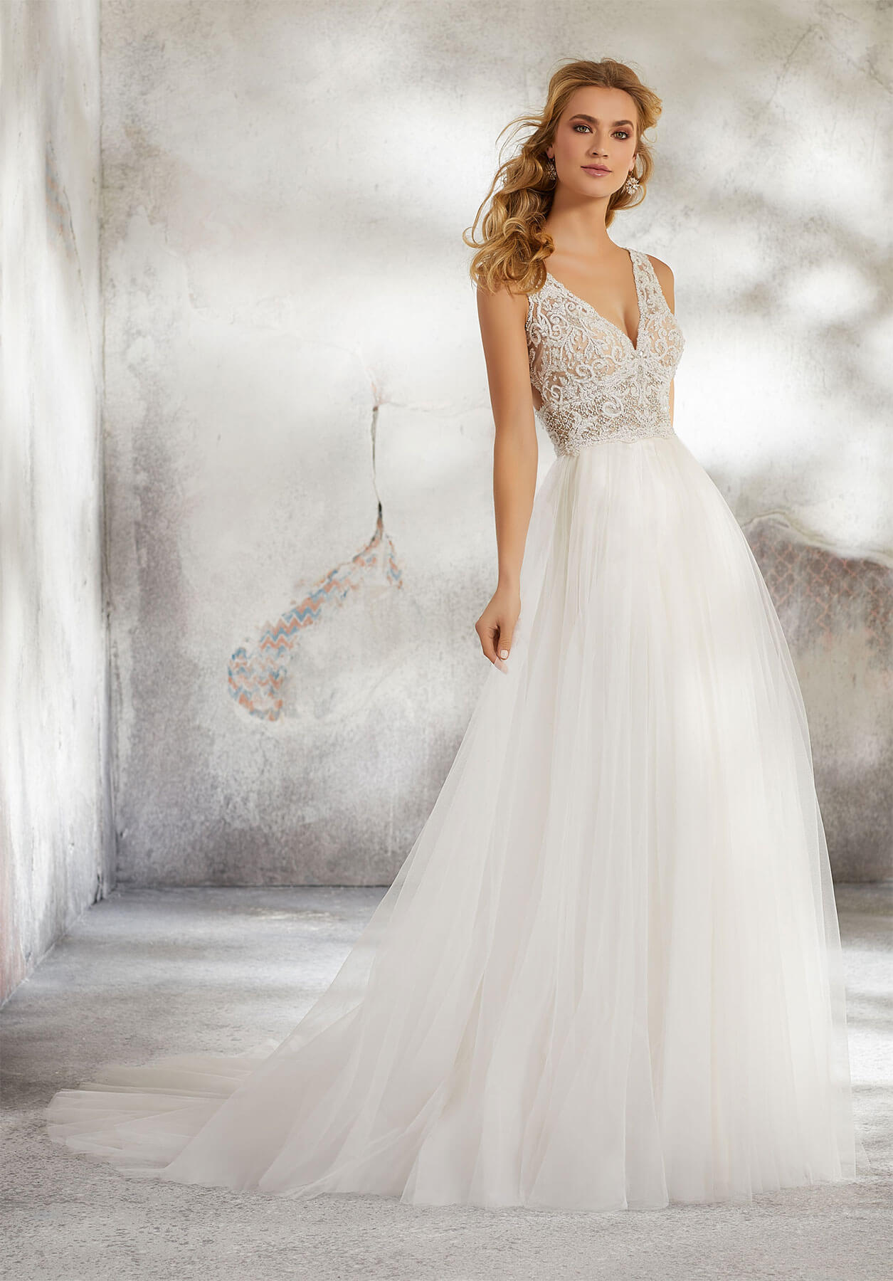 Свадебное платье Mori Lee 8284