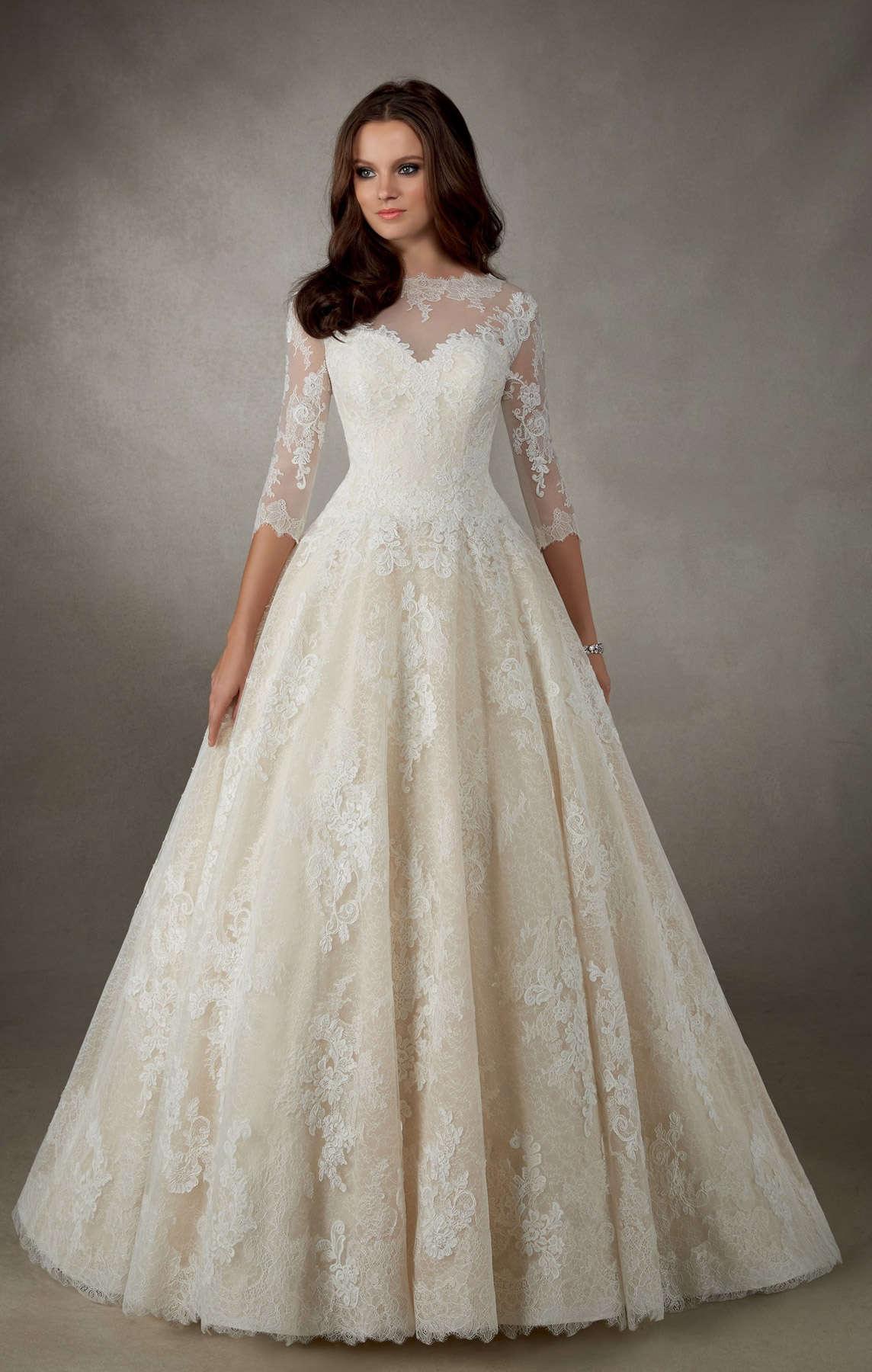 Свадебное платье Ronald Joyce 69114