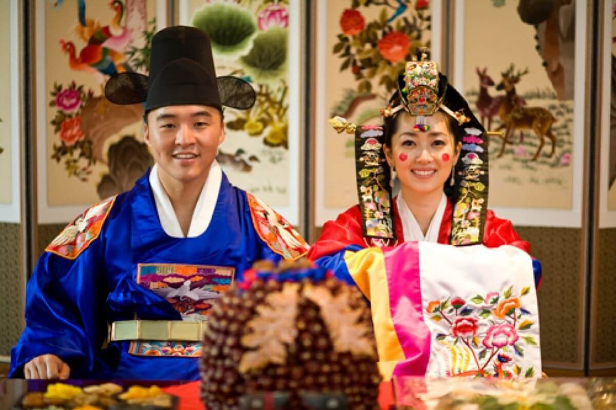 Свадьба в Корее