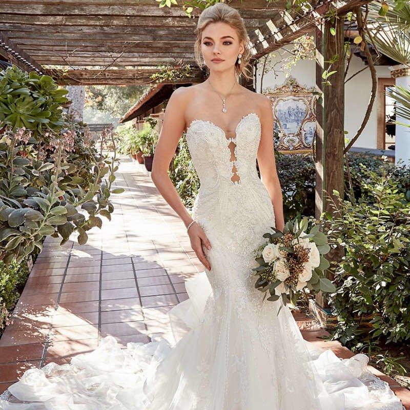 Свадебные платья Русалка Годе